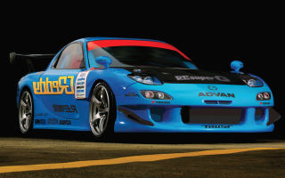 Mazda RE Amemiya FD3S RX-7 Boost Up