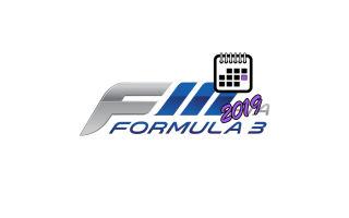 Формула 3 – 2019 – Расписание этапов