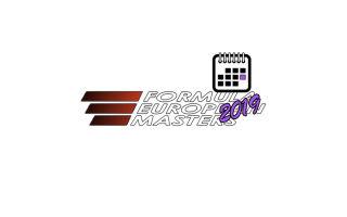 Европейская Формула Мастерс 2019 – Расписание