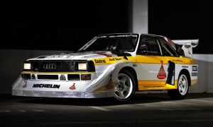 Audi Sport Quattro S1 Rally Car – 1986