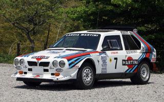 Delta S4 Rally Car – 1985