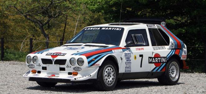 Lancia Delta S4 Rally Car - 1985