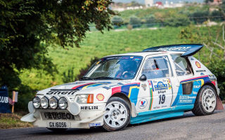 Peugeot 205 Turbo 16 Rally Car - 1985