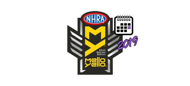 Чемпионат по дрэг-рейсингу NHRA 2019 – Расписание этапов