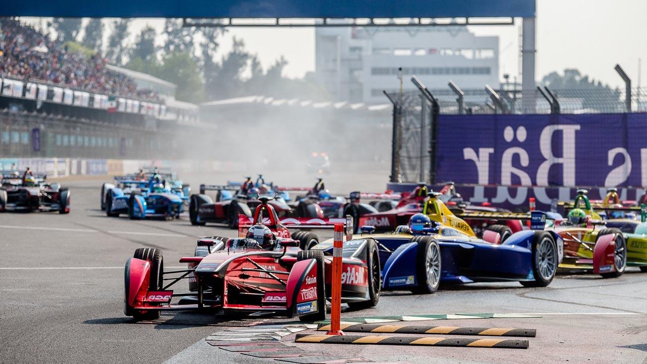 гонка электромобилей