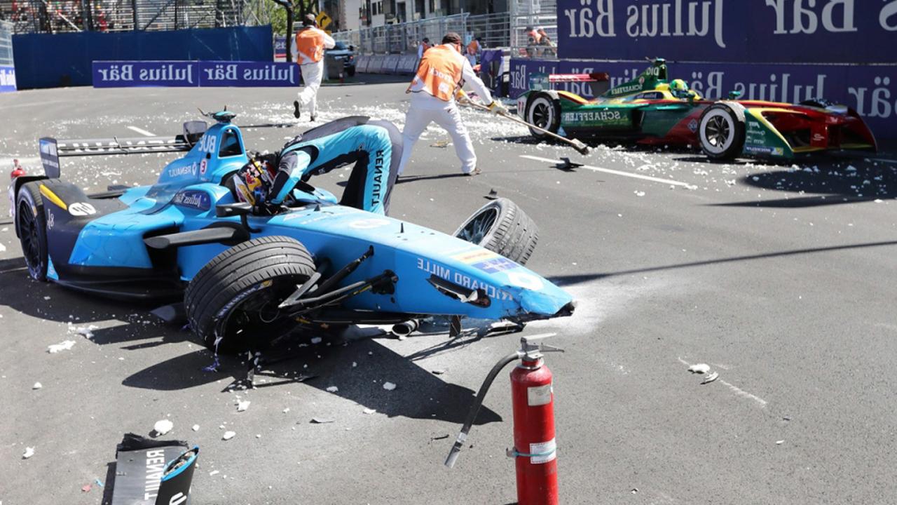 авария в гонках