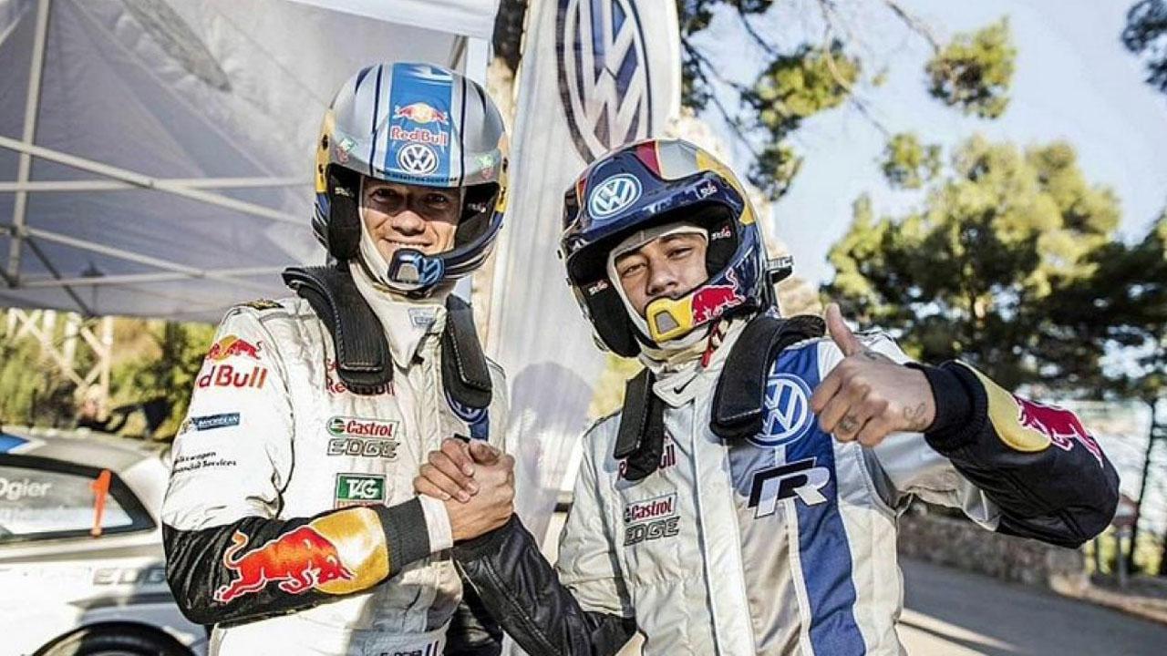 Гонщики команды VW на ралли