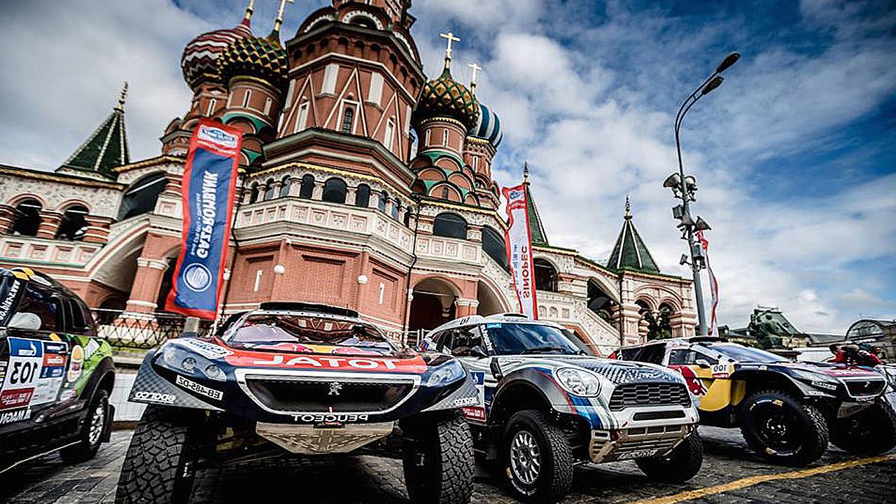 ралли стартует в Москве