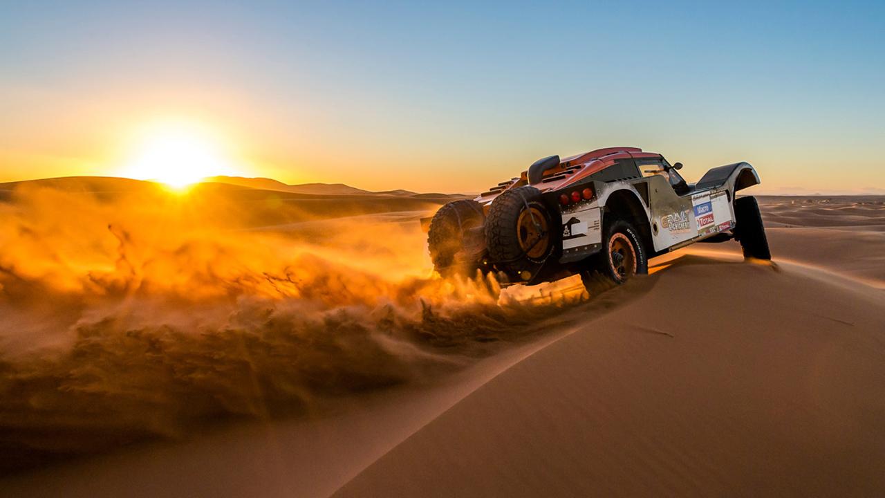 маршрут в пустыне