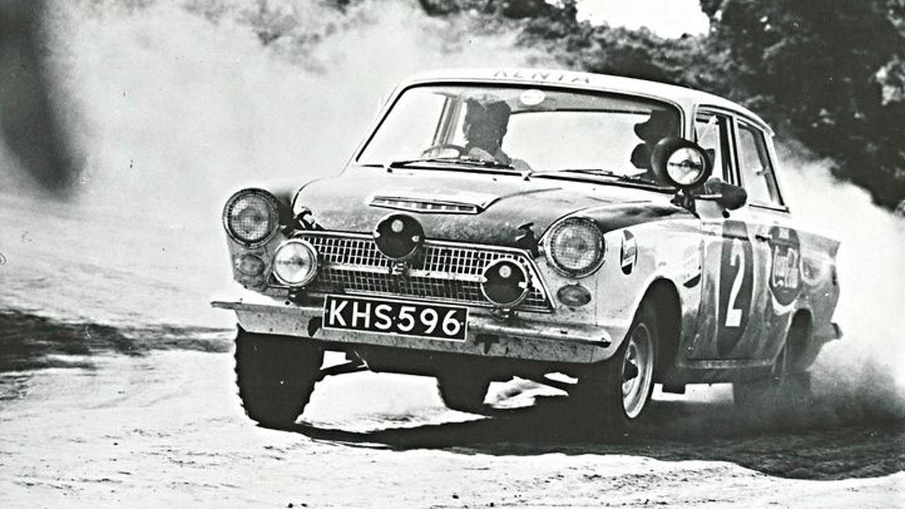Первый Форд на ралли