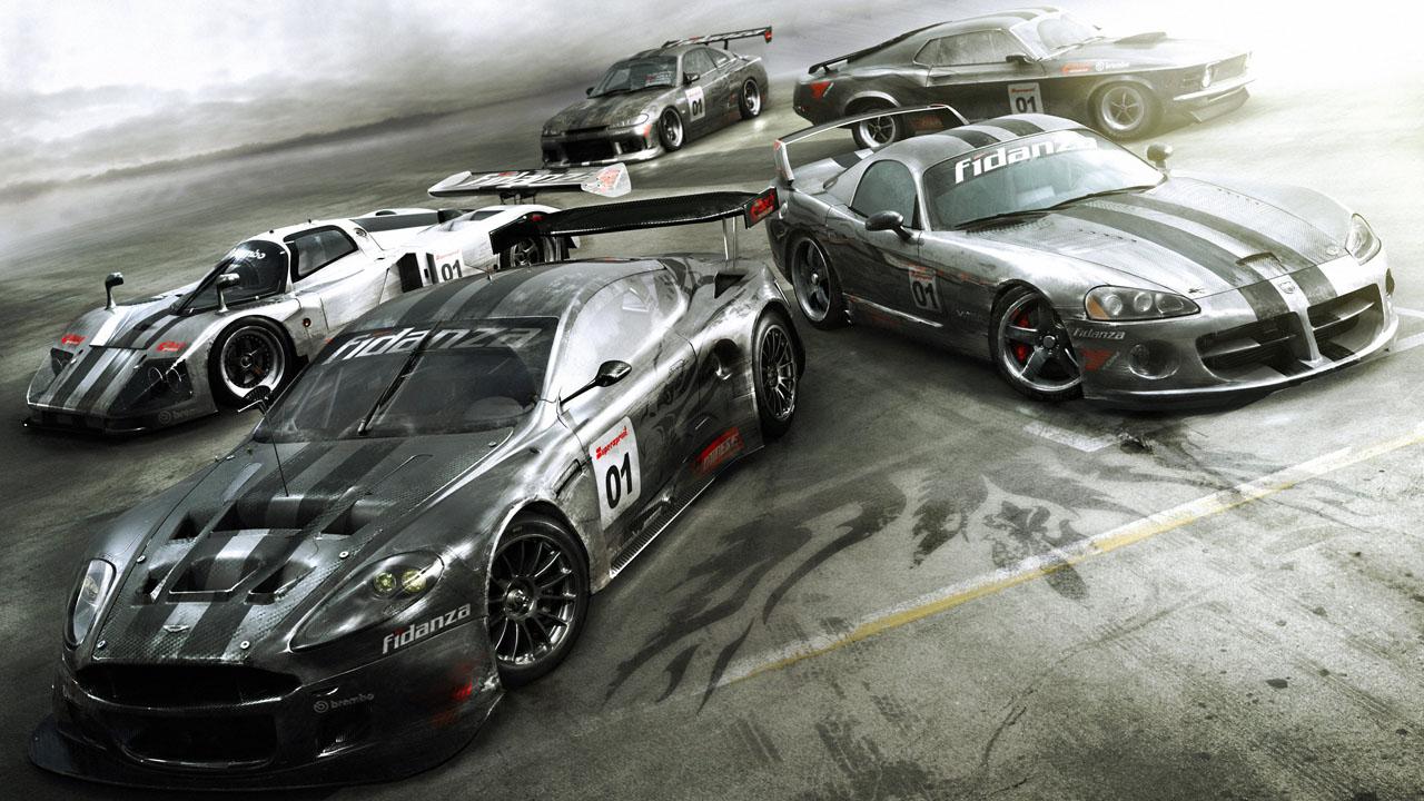 Машины из игры Racedriver GRID
