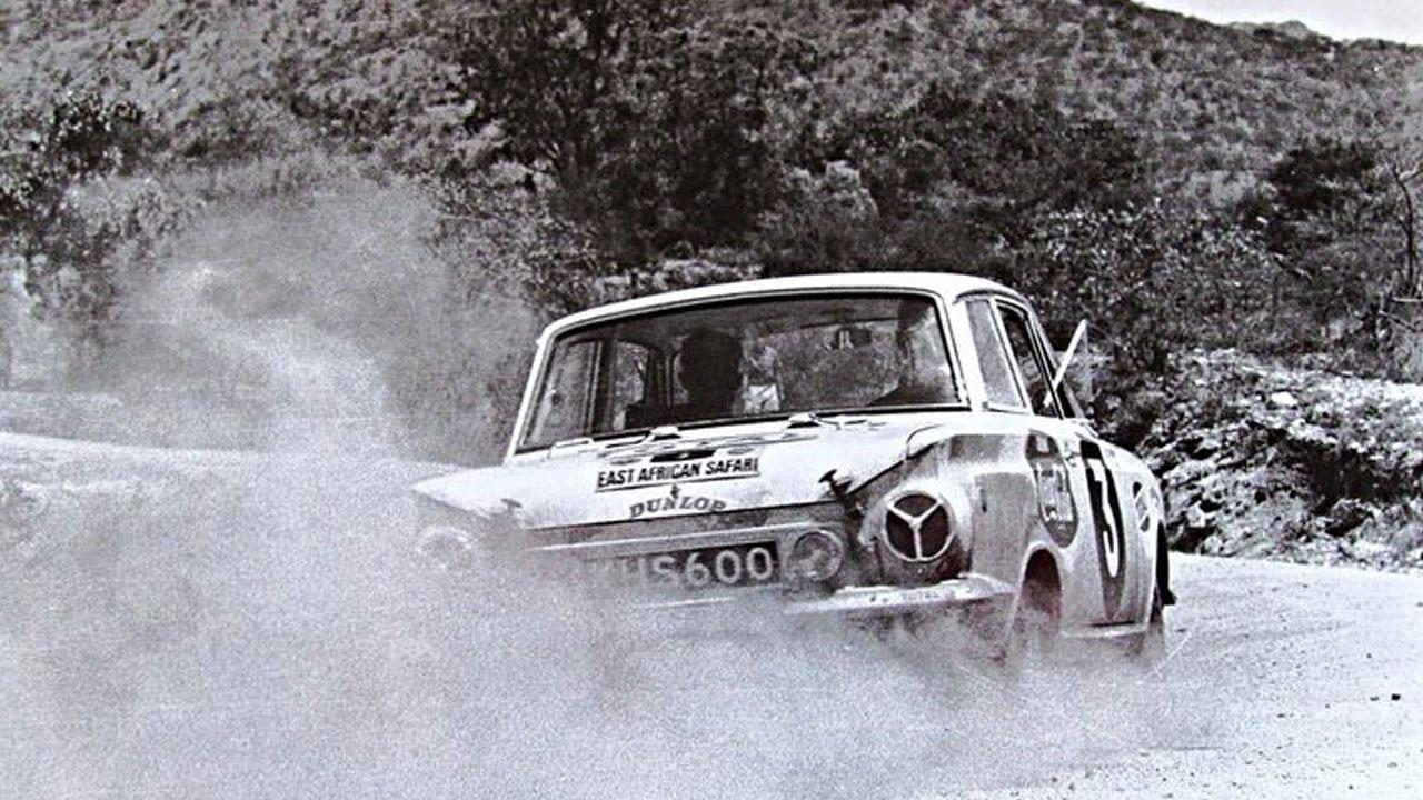 Старый раллийный Форд