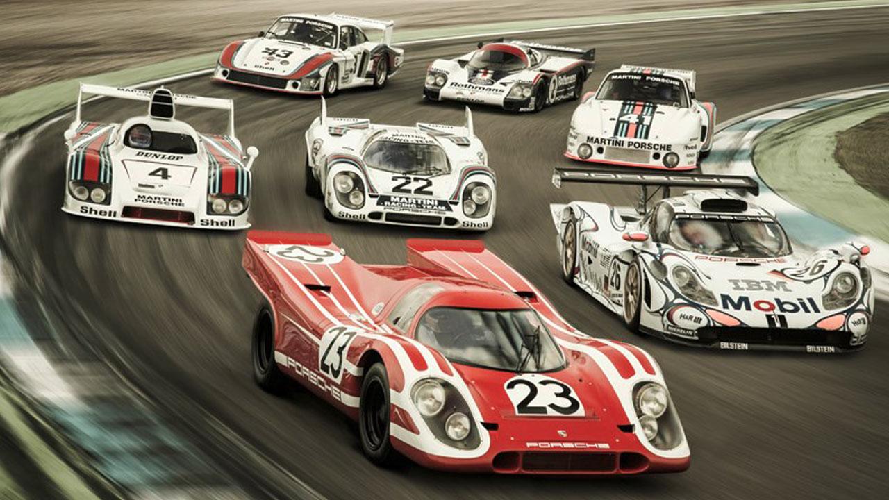 Гонка гоночных легенд Le Mans legends