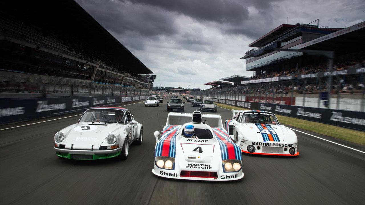 Гоночные легенды Le Mans Classic