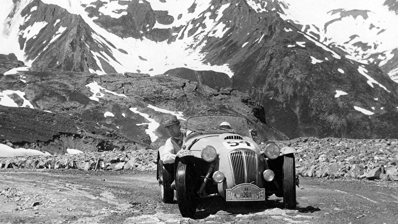 Ралли в Альпах 1951
