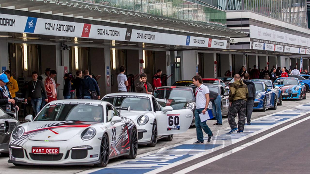 соревнования автогонщиков