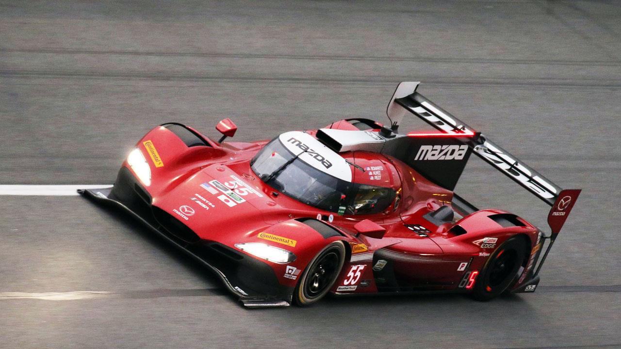 Гоночный прототип Mazda LM