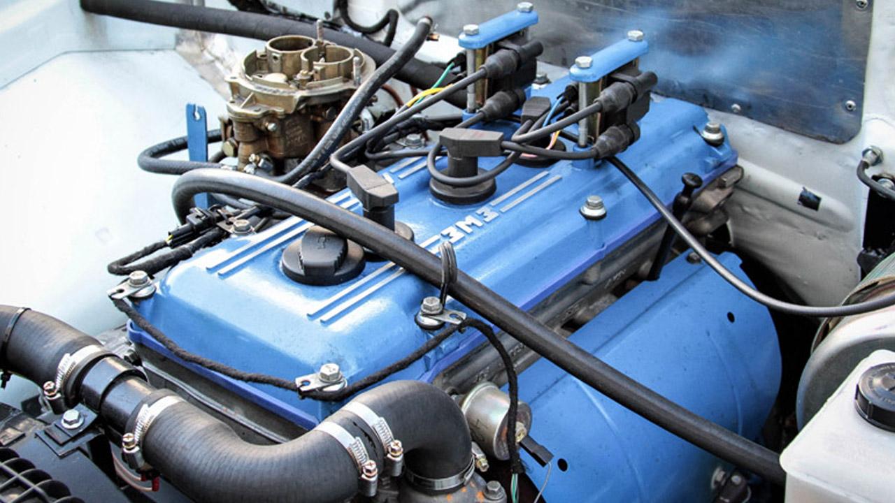 Двигатель гоночного ГАЗ
