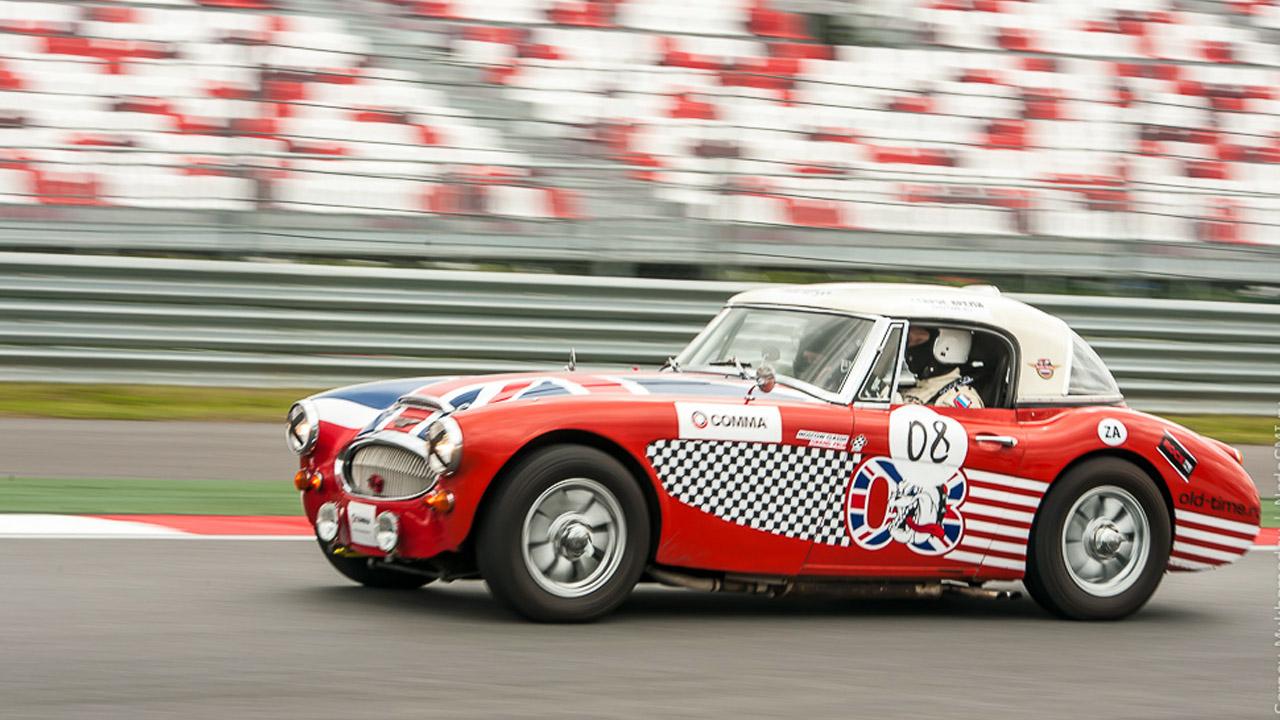 Классическое гоночное авто