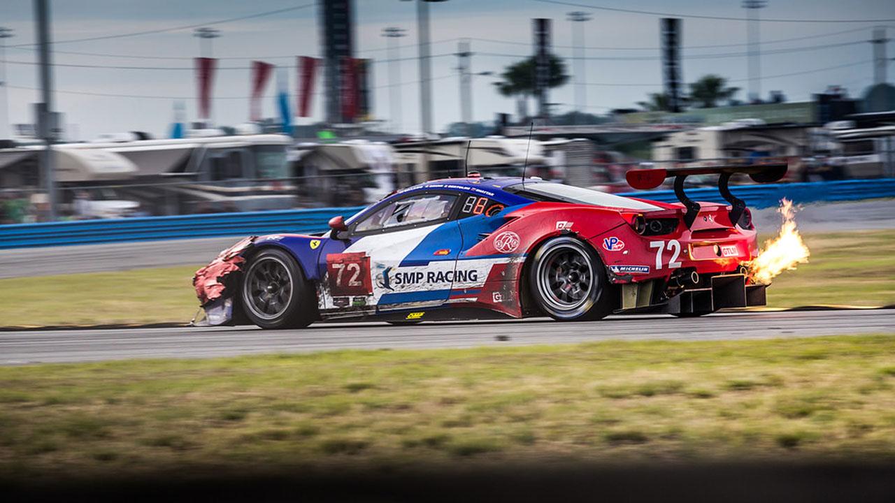 Ferrari команды SMP Racing