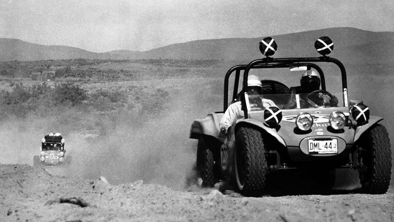 автозаезд в пустыне