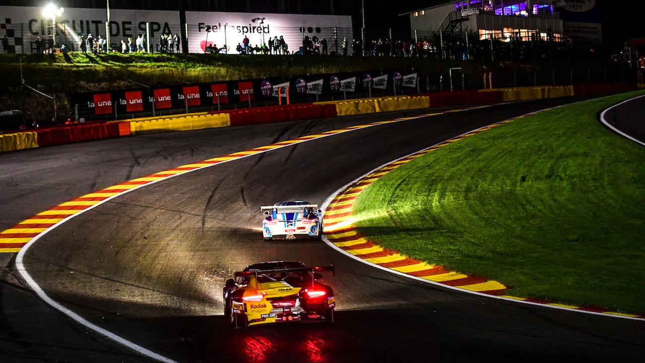 гонка ночью