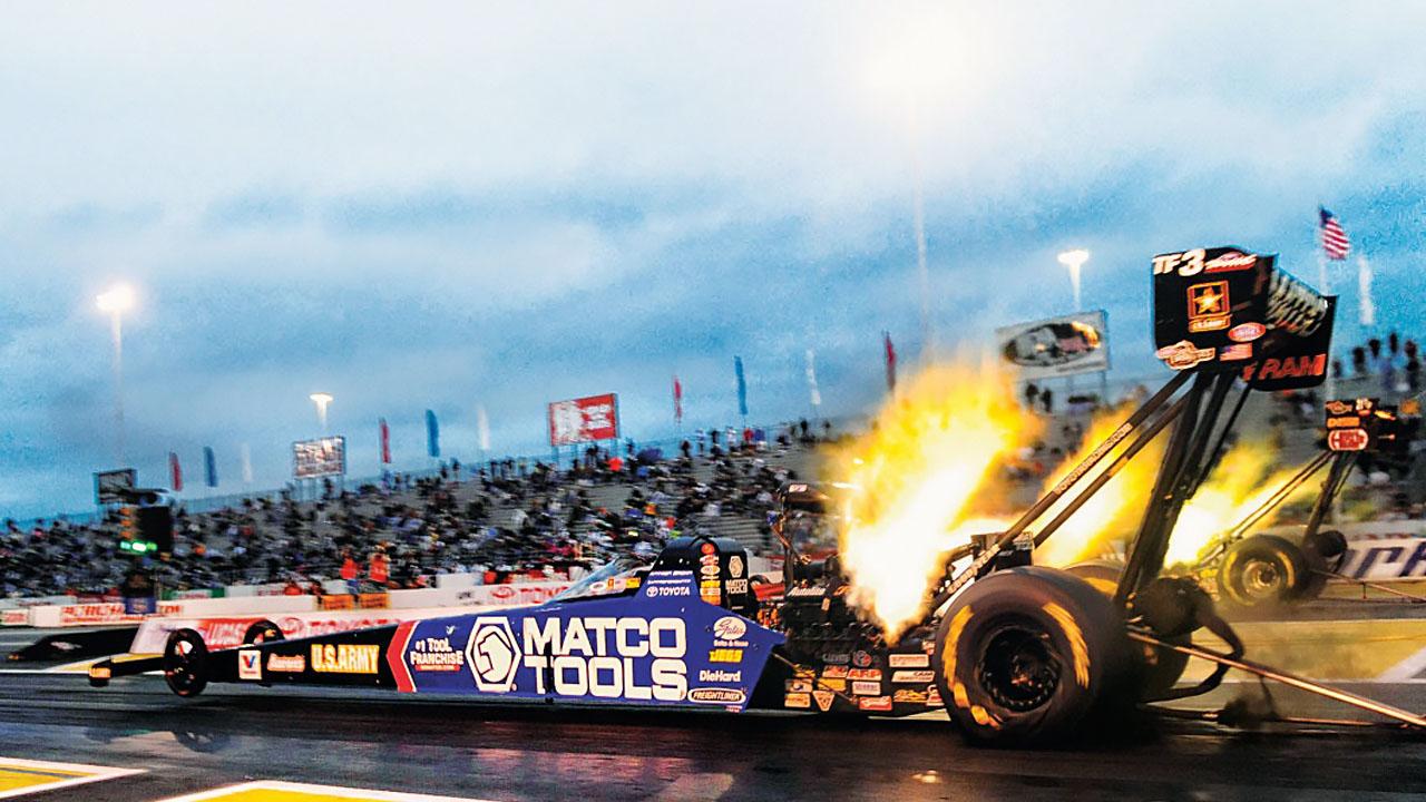 огонь из двигателя