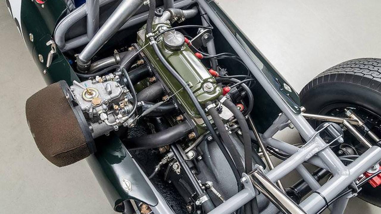 Двигатель болида Купер