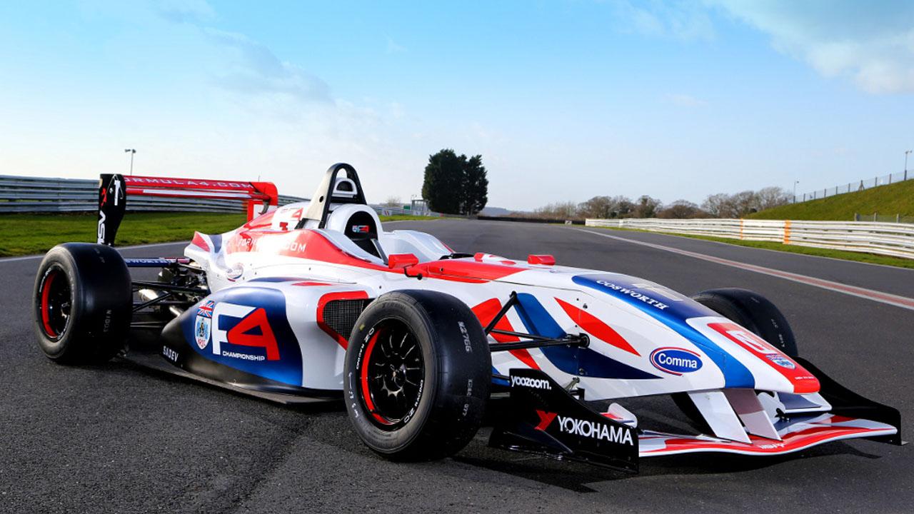 Красивый болид Formula 4