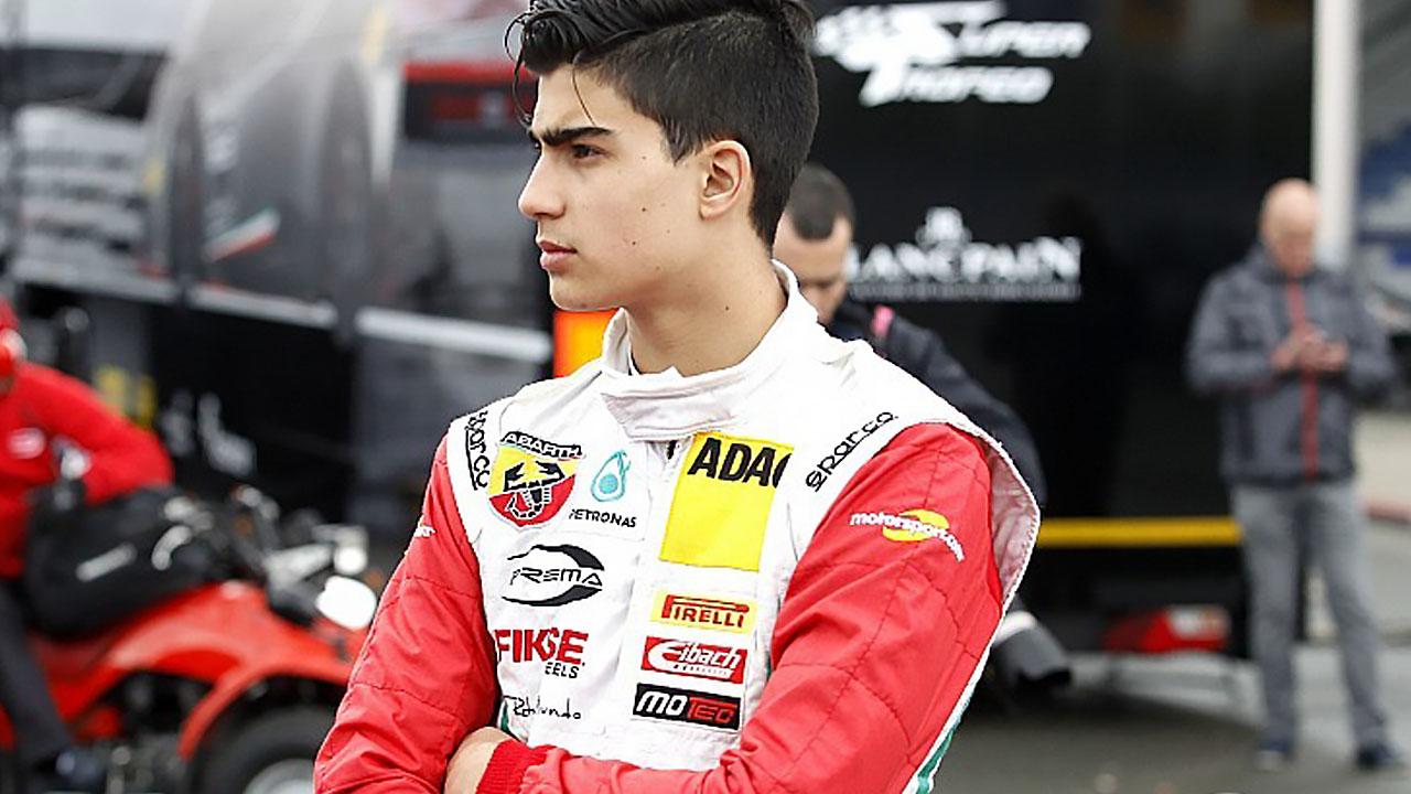 Юный пилот Формулы