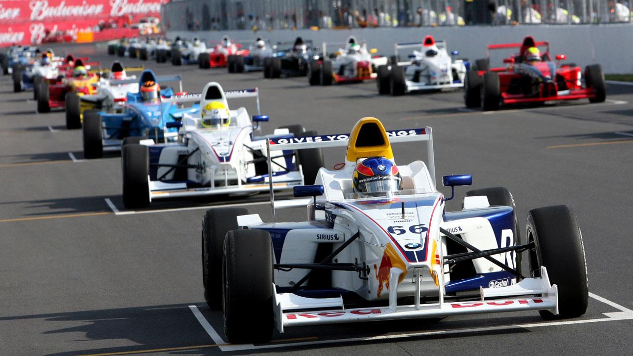 гонщики на старте