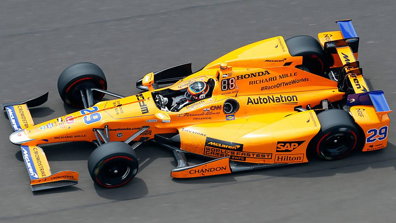 Alonso на IndyCar Series