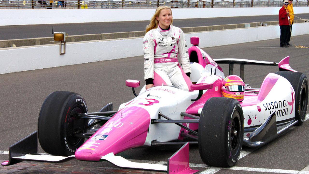 Пиппа Манн на IndyCar Series