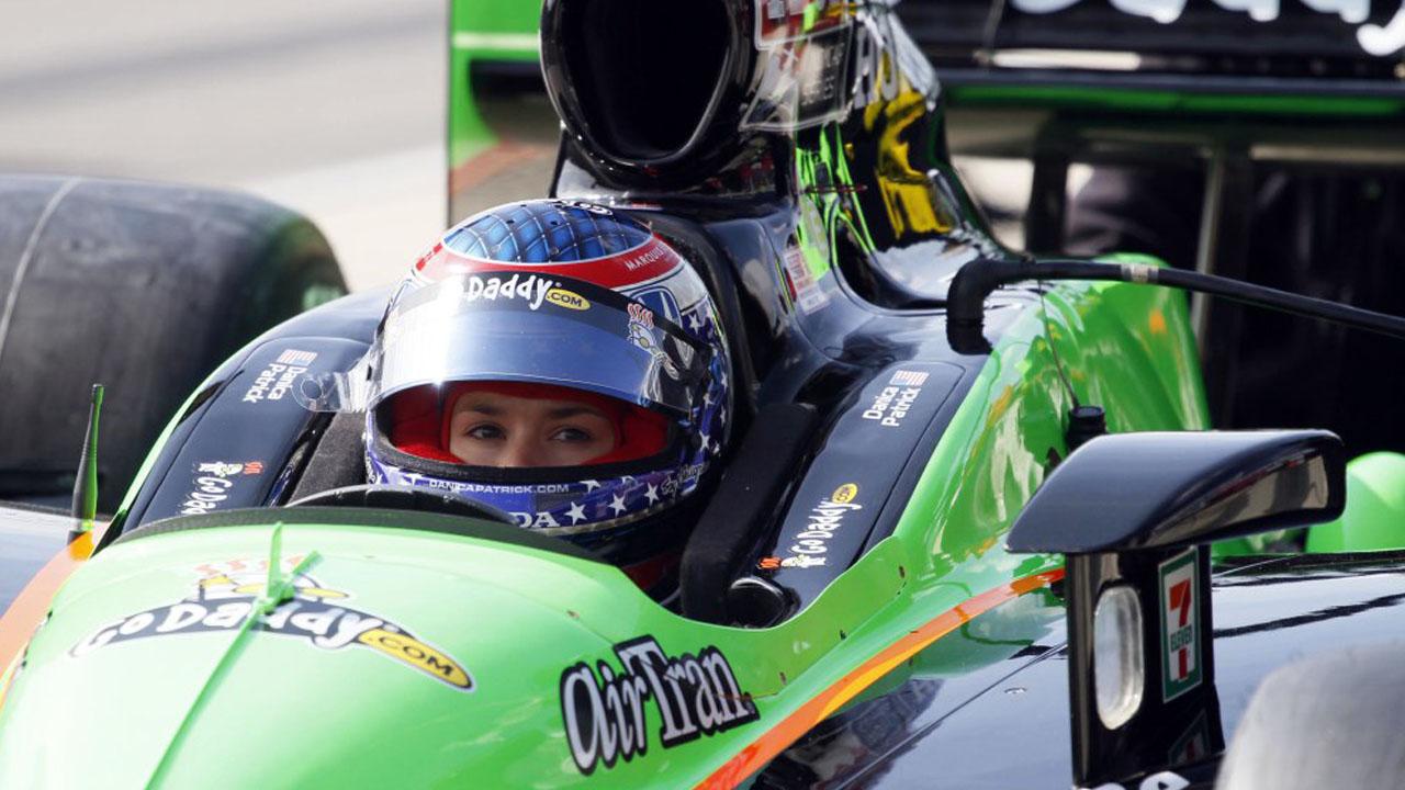 Даика Патрик на IndyCar Series