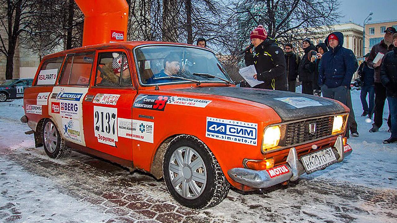 Раллийный Москвич универсал на Р3К