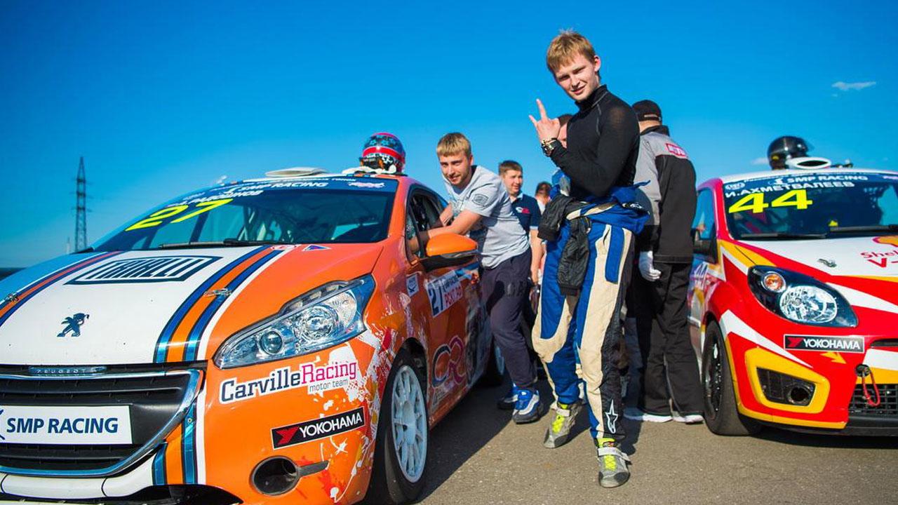 молодые гонщики