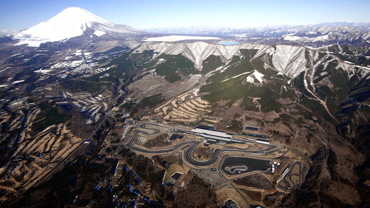 гоночная трасса в горах