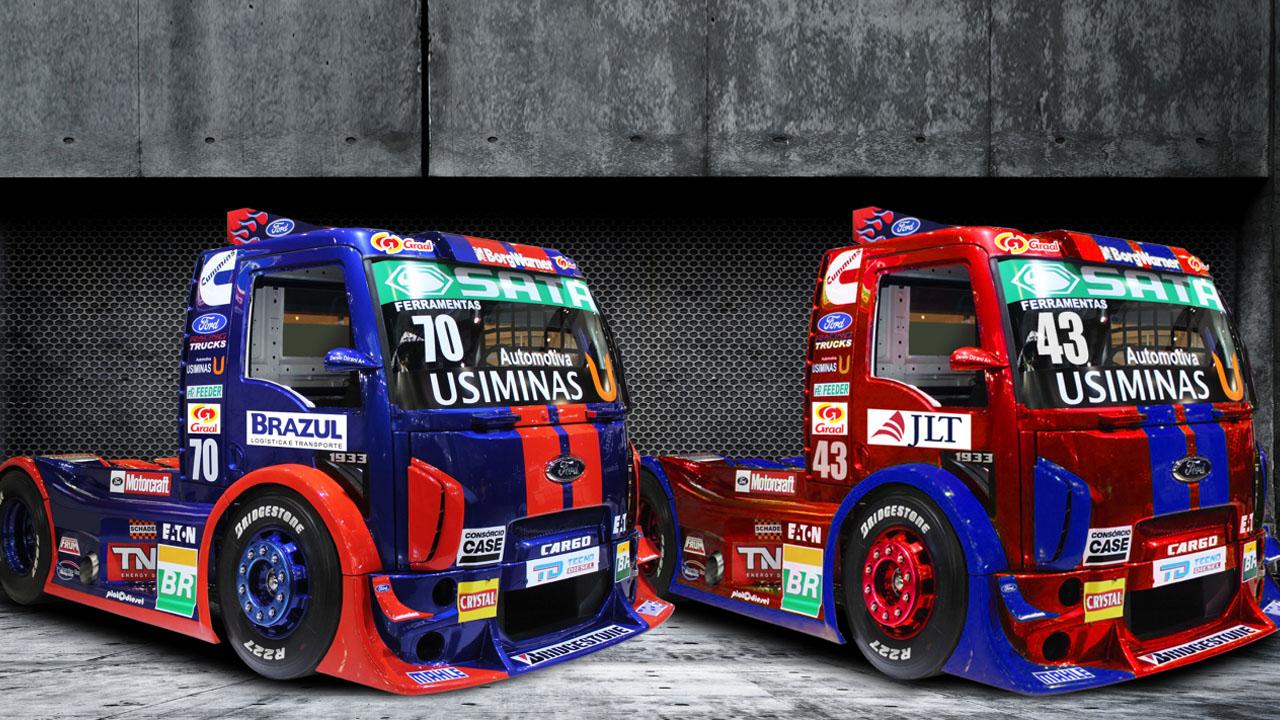 гоночные грузовики