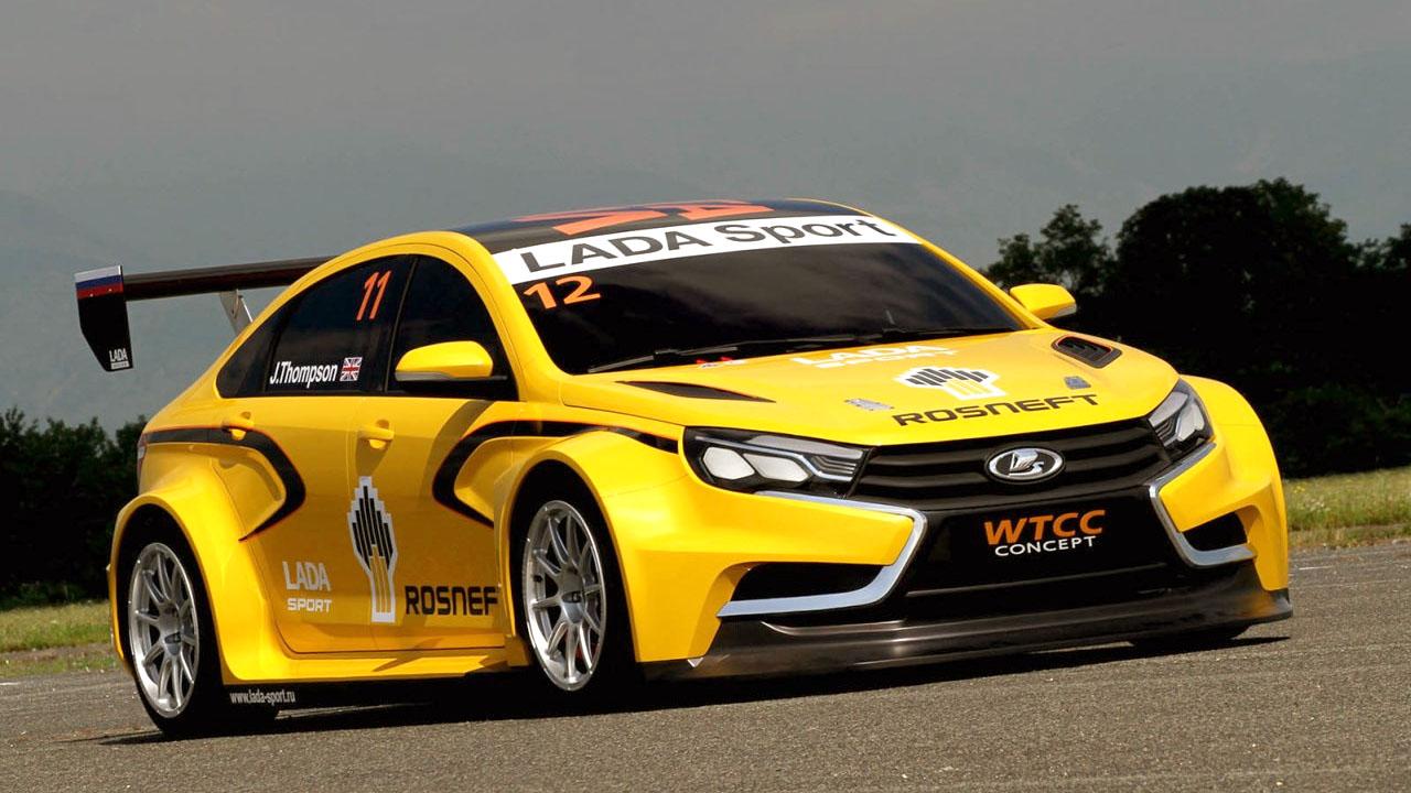 lada sport wtcc concept car