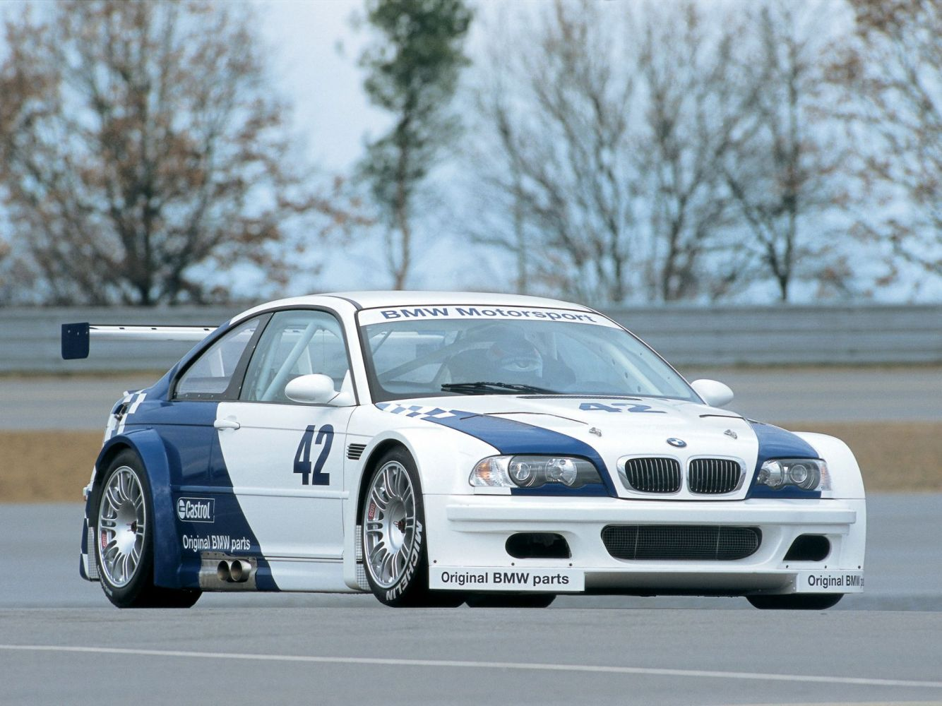 BMW M3 GTR DTM Race Car - 2001