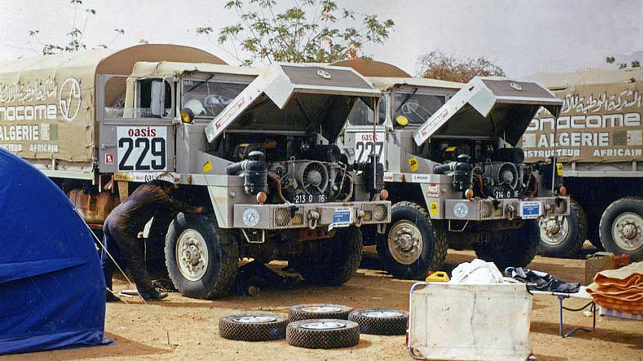 Ремонт раллийных грузовиков