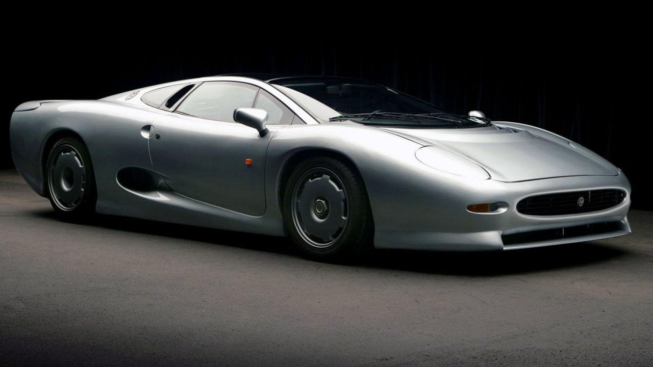 Jaguar XJ220 LM Race Car