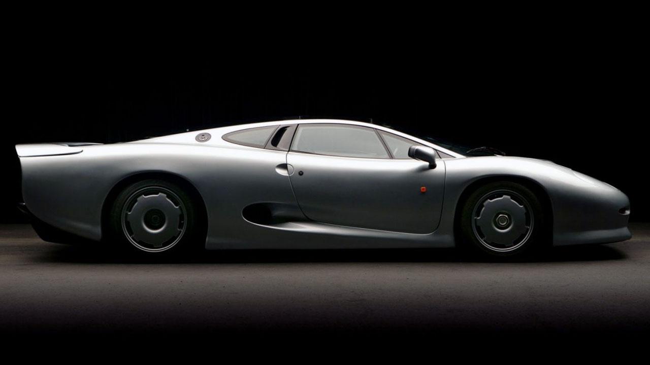 обтекаемый Jaguar XJ220 LM Race Car
