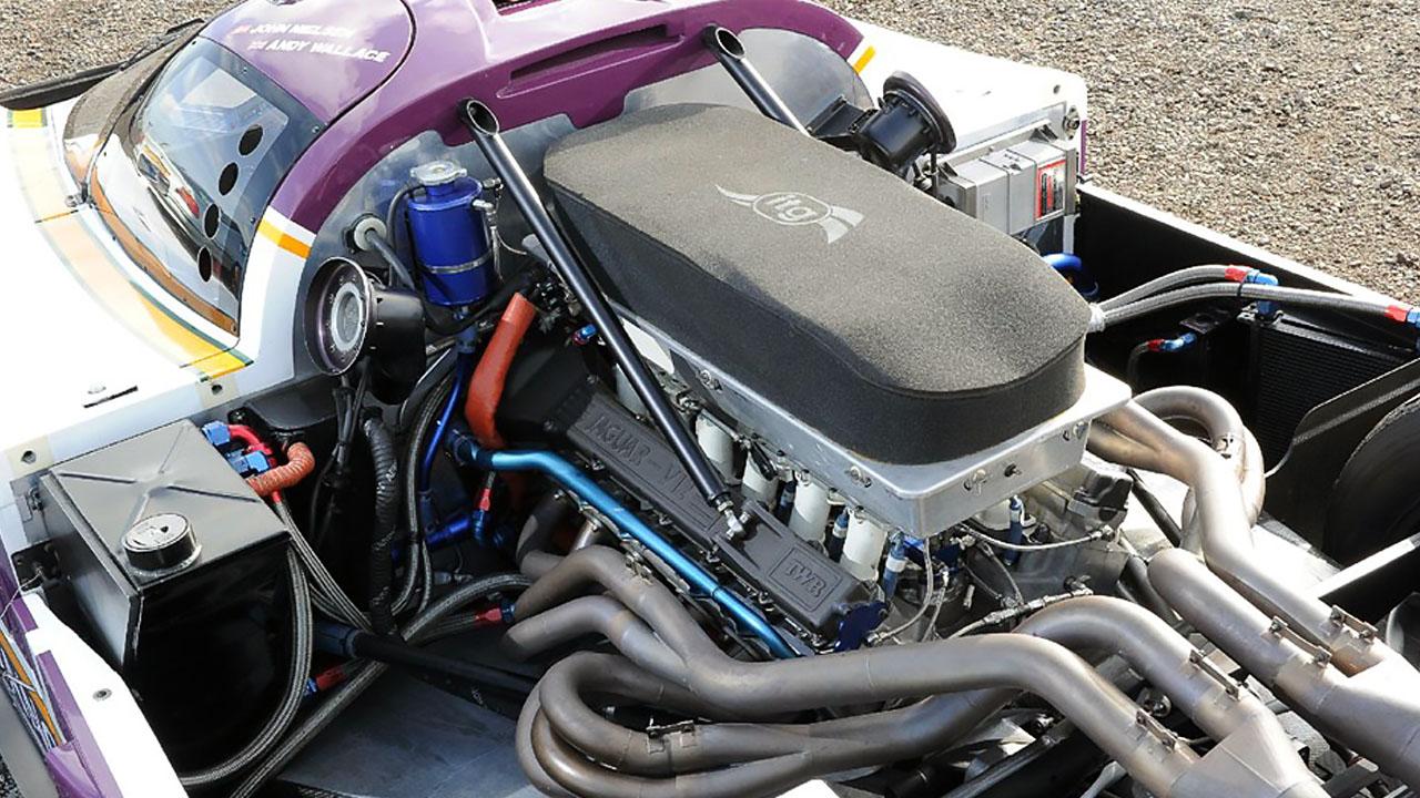 Двигатель Jaguar XJR-9