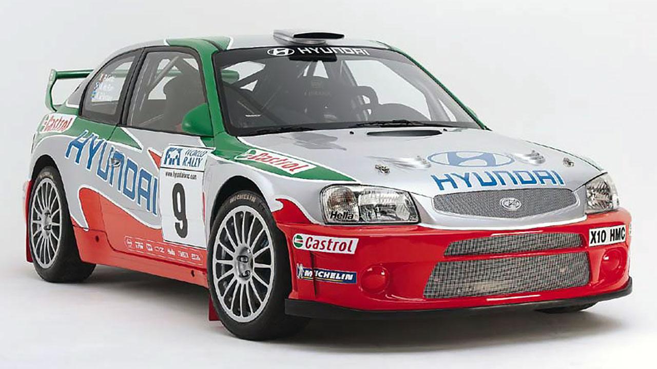 Hyundai Verna WRC2