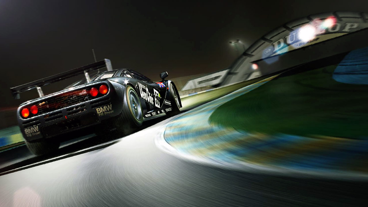 McLaren F1 GTR BMW