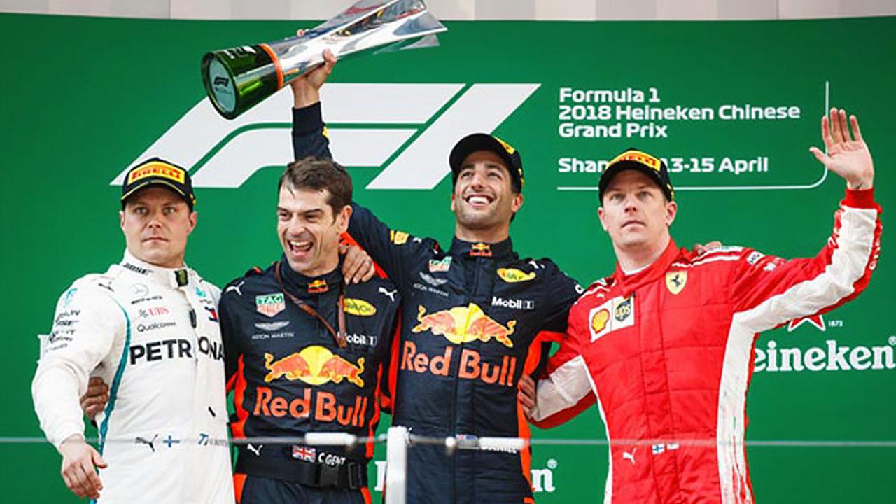 Победители Гран При Шанхая 2018