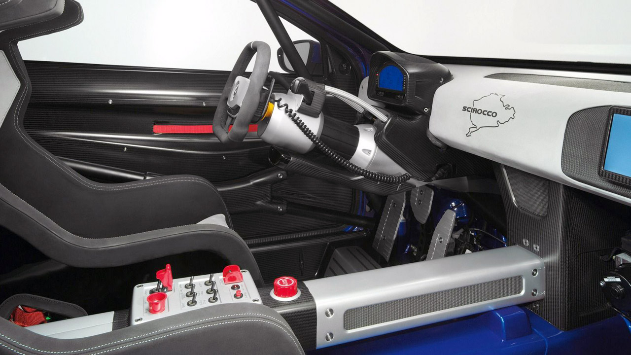 Интерьер гоночного Volkswagen
