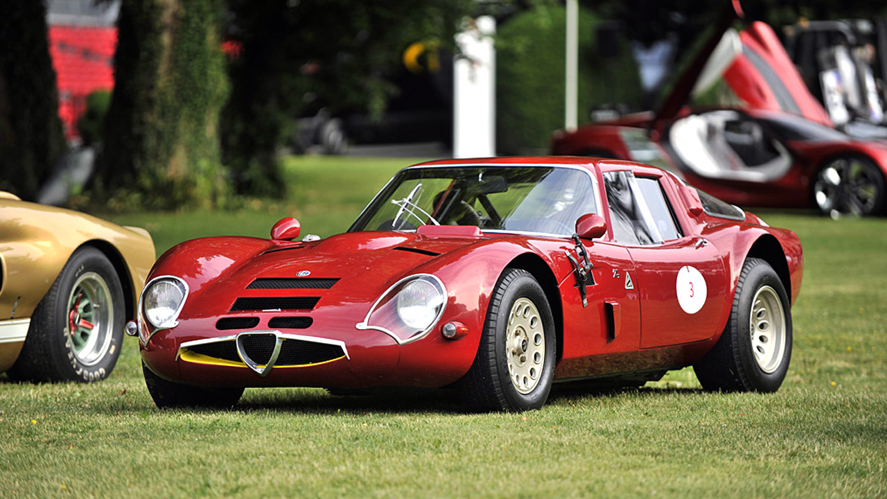 Alfa Romeo GIULIA TZ2 carrozzata da ZAGATO 1965 1