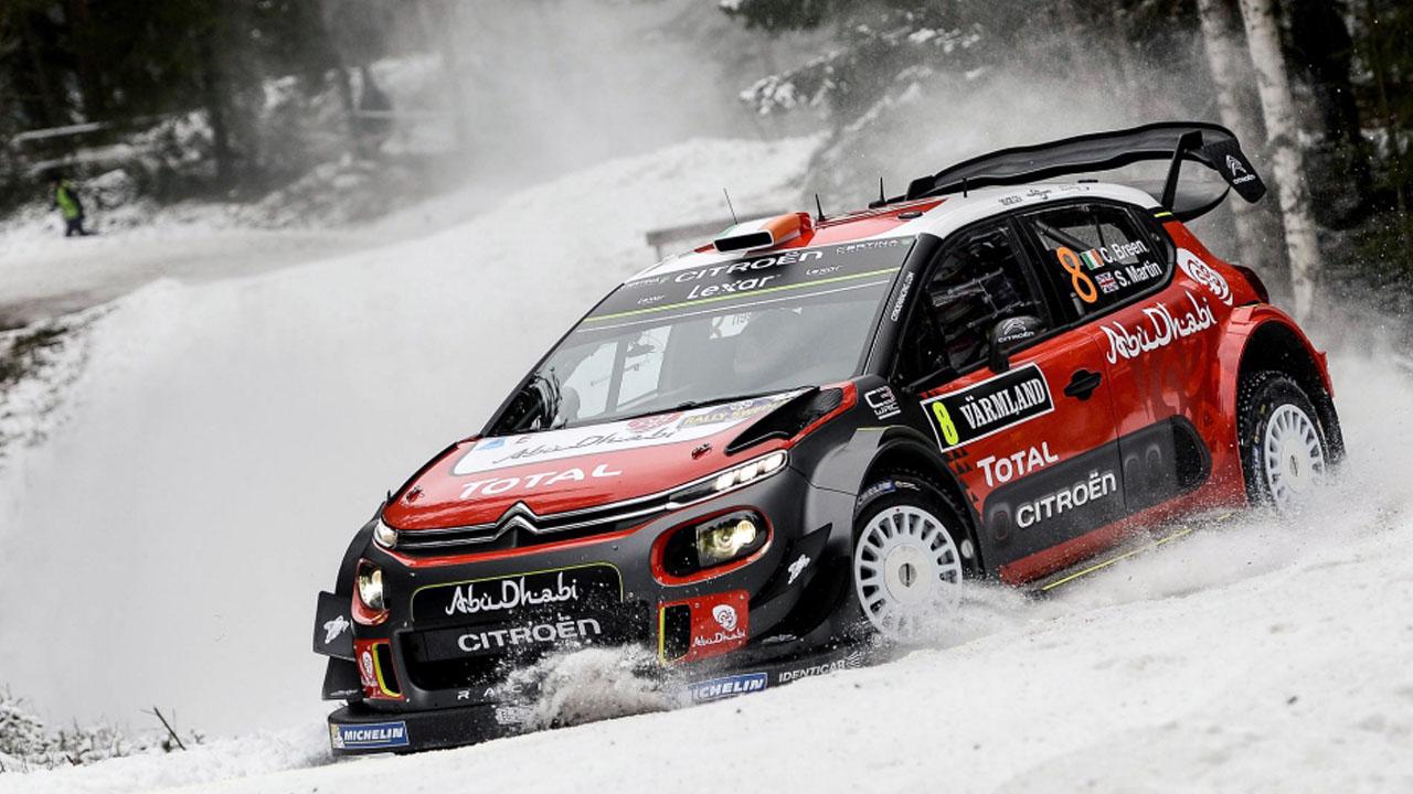 Citroen WRC 2018